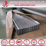 Панель крыши стального листа алюминиевого цинка Corrugated