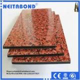 Painel composto de alumínio da superfície de mármore de madeira do granito com preço de fábrica