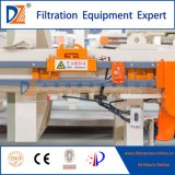 La nueva tecnología Prensa Filtro de membrana de deshidratación de lodos Serie 1250
