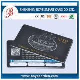 Qr Laser personalizado cartão plástico VIP