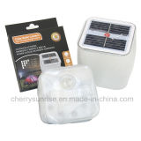 Il giardino solare esterno illumina la lampada gonfiabile d'attaccatura autoalimentata solare della lanterna