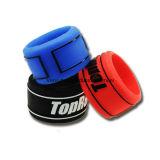 Silicio colorido del fabricante del deporte de muñeca de la venda de las pulseras profesionales del silicón