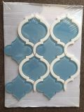 Hot Sale Glass Lantern Water Jet Mosaic Tile Backsplash