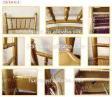 Оптовая торговля Chivari дизайн Gold алюминиевых Тиффани свадьбы Кьявари стул (XYM-ZJ22)
