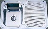 Australische StandardEdelstahl-Küche-Wanne des abfluss-Vorstand-304/201 (KIS7848)