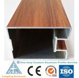 6063 Des profils de bois pour portes et fenêtres en aluminium