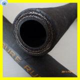 Boyau industriel de boyau de fil de boyau résistant spiralé de température élevée