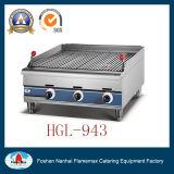 Hgl-943 griglia della roccia della lava del gas Chargrill/