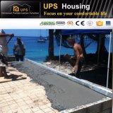 La ISO certificó fácil instalar el chalet prefabricado económico con los recursos proporcionados