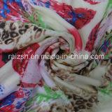 Ткань напечатанная полиэфиром шифоновая имитационная Silk