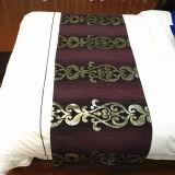파이브 스타 호텔을%s 침대 주자가 새로운 디자인 호텔 침구 고정되는 면에 의하여 시트를 깐다