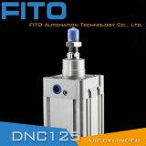 DNC ISO 15552 Festo 유형 표준 압축 공기를 넣은 공기 실린더