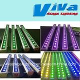 18X3w RGB 3 à 1 LED Bar Mur lumière lavage