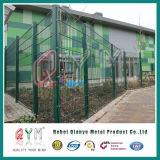 868二重電流を通された鋼線の網の塀の金属の倍の鉄条網