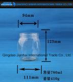 Copo de vidro do vaso de grande capacidade para armazenamento