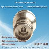 ステンレス鋼の部品を機械で造るCNCを回す中国の精密製粉の旋盤