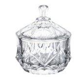 De Pot van het Suikergoed van het kristal met Gehard glas
