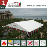 Broad White Outdoor Wedding Tent for 1500 People, 1500 People Wedding Tent for Dirty