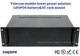 Batería del polímero LiFePO4 del ion del litio de la capacidad plena 12V50ah