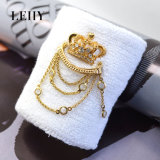 Form-Goldtone heiße Entwurfs-Schmucksache-Armband-Armbänder mit Krone