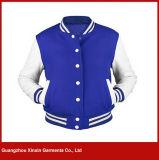 다른 색깔 (T10)에 있는 주문 남자의 면 Hoodie 야구 Varsity 재킷