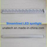 Reflector linear aerodinámico al aire libre barato económico del LED para la muestra de la cartelera de la Tri-Visión