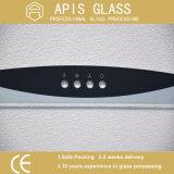AG /Clear Sérigraphie/peinte du châssis/imprimé tempérée/Le verre trempé pour Home appliance
