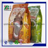 Os lados da qualidade superior 8 selaram o saco do malote do alimento de cão com reforço inferior