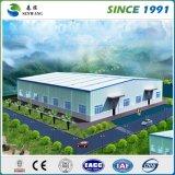 Большое полуфабрикат здание стальной структуры для школы мастерской пакгауза