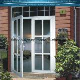 Fabricante de la puerta plegable de aluminio con buena calidad y Auditoría TUV