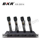 Kx-D814 Pll 4CH UHFdrahtloses Konferenz-System