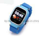 """1.22"""" de la pantalla táctil de colores reloj GPS Tracker con sos D15"""