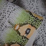 Cuoio sintetico sventato impresso dell'unità di elaborazione della pelle di serpente per i pattini dei sacchetti