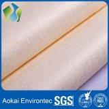 Tessuto filtrante non tessuto a temperatura elevata di Aramid