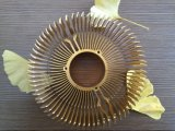 Подгонянный теплоотвод OEM круглый алюминиевый для светов СИД