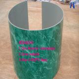 曲げられたアルミニウム合成のパネル