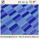 Suministros del mosaico del azulejo blanco cocina cristal protector contra salpicaduras en las rocas