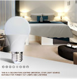 eficacia alta A60 270&deg de 8W SMD; Bulbo del LED