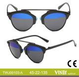 Neue Form-MetallSun polarisierte Sonnenbrillen (103-E)