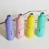 250ml, frasco de loción de masaje de aluminio con la impresión (PPC-AB-101)