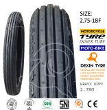 工場オートバイのタイヤの二重スポーツのタイヤの前部タイヤ3line 2.75-18