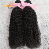 卸し売り8Aカンボジアのバージンの毛のねじれた巻き毛の自然な毛の拡張