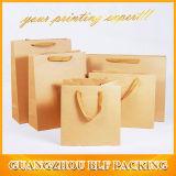 Kundenspezifische fördernde Papiereinkaufen-Geschenk-Beutel