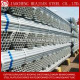 Tubo de acero galvanizado andamio con el certificado de la ISO