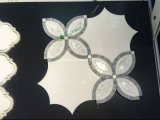 زهرة [موسيك تيل] رخاميّة/أبيض كراره قرميد رخاميّة يجعل في الصين