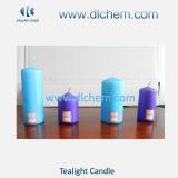 La Navidad Tealight blanco Candles#05 de la cera del palillo/del hogar del pilar de la forma cónica