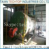 中国は4tに産業オイルを高性能および低圧のガス燃焼の蒸気ボイラ作った