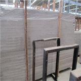 Мрамор травертина серого мрамора мрамора травертина естественного серого Polished деревянный