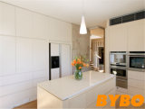 流行の高い光沢のある白いラッカー食器棚(BY-L-73)
