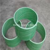Cable de la fibra de vidrio de GRP que rosca el tubo del enrollamiento del tubo FRP